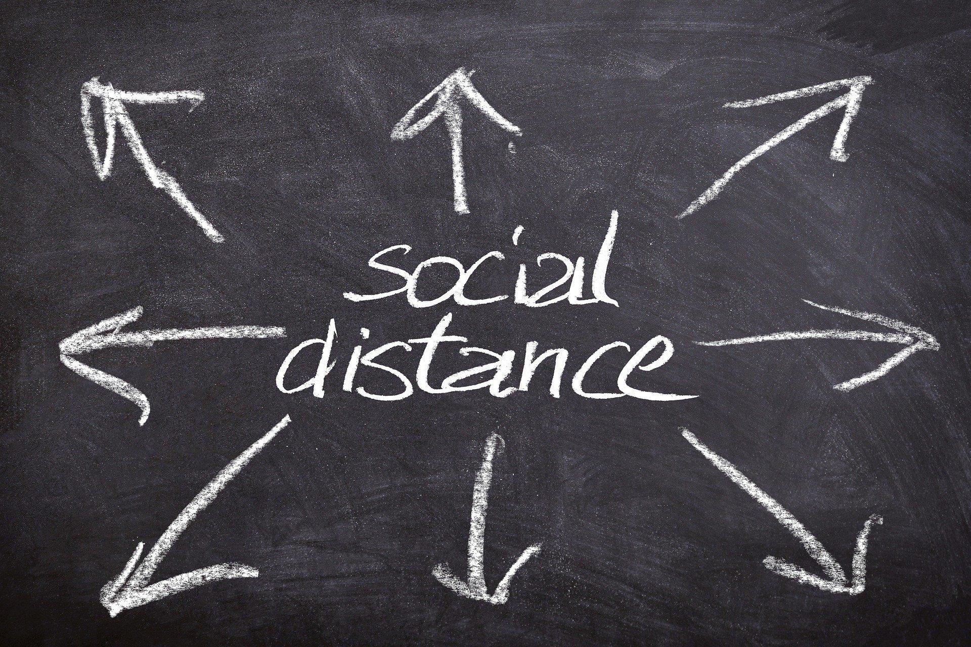 social distance kryzys koronawirus